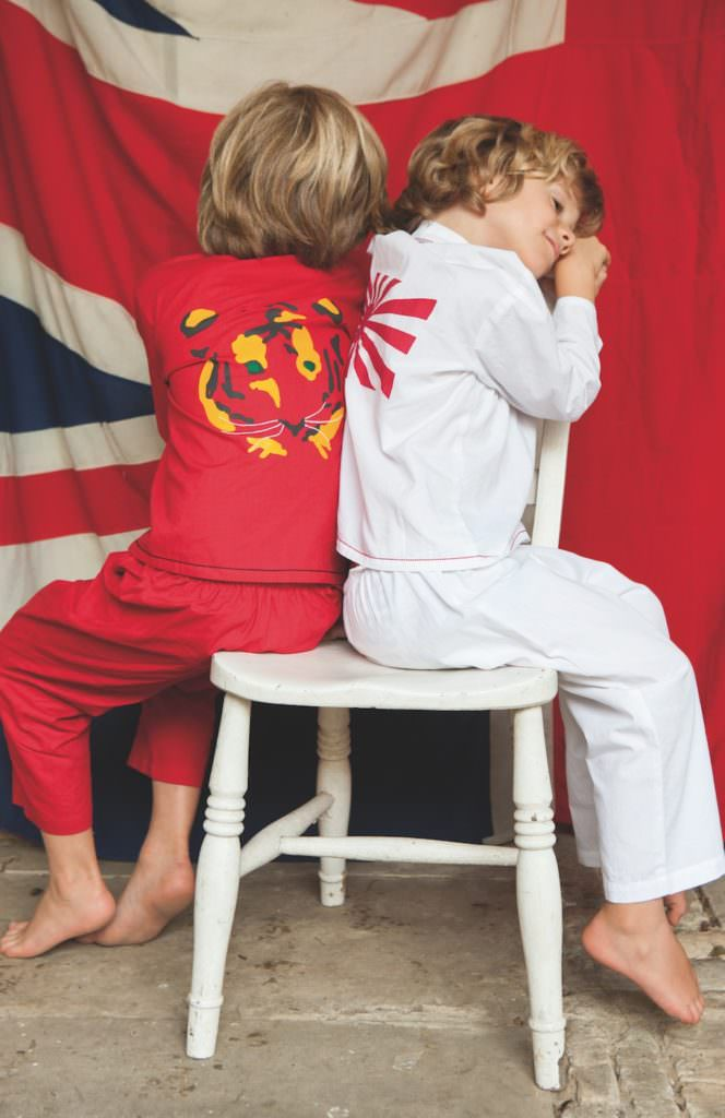 Karate style pyjama sets at Wild & Gorgeous for kids fashion spring/summer 2017