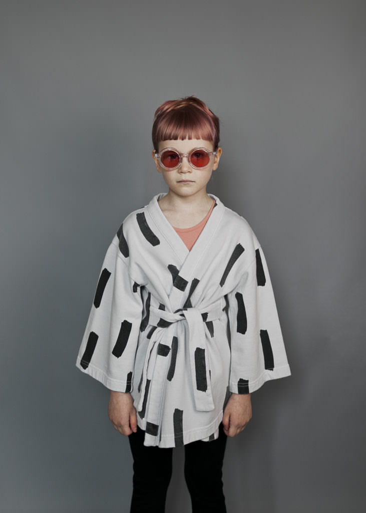 Fabulous kimono jacket by Beau Loves for spring 2017 kids fashion