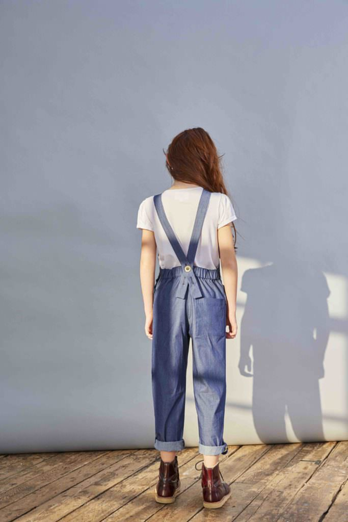 Daisy Dungarees from Kingdom of Origin, a new girls fashion label from the UK