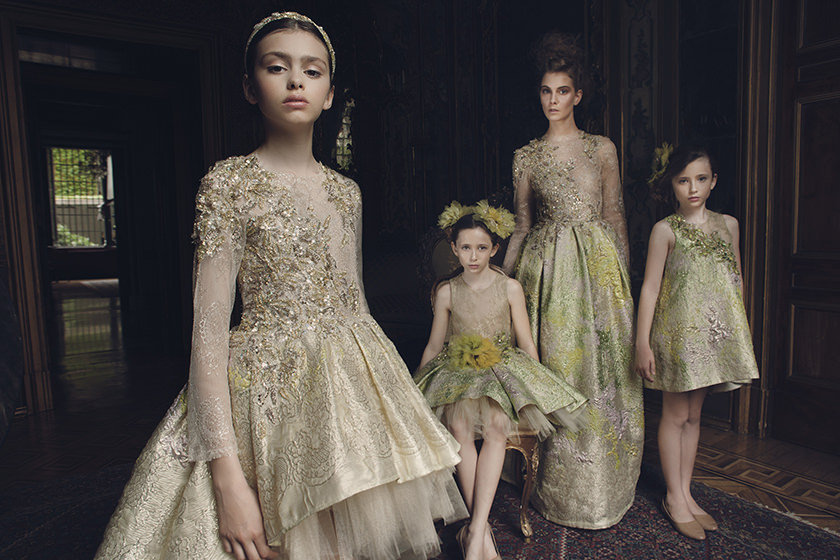 Always amazing, the most stunning kids dresses in the world from Mischka Aoki for spring 2017