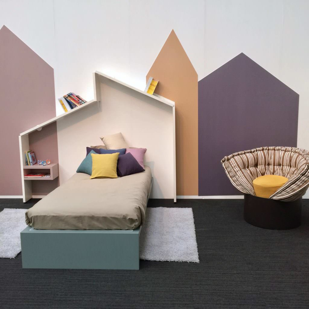 Interior design label LAGO presented a cool kids bedroom set up at Bubble London