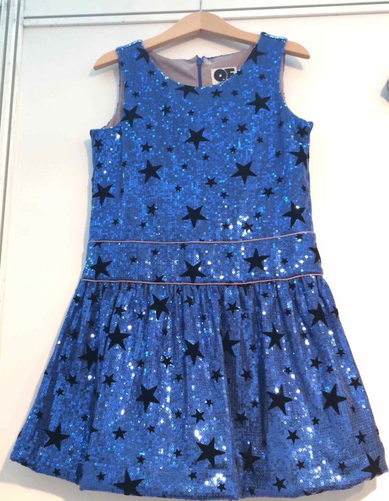 More party sparkles from Question Everything at Bubble London kids fashion trends focus for fall 2017