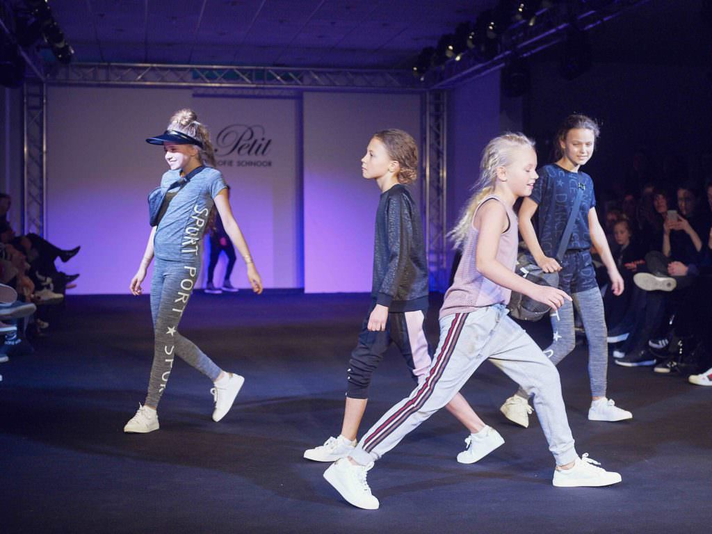 Teen athleisure style at Petit by Sofie Schnoor for spring 2017