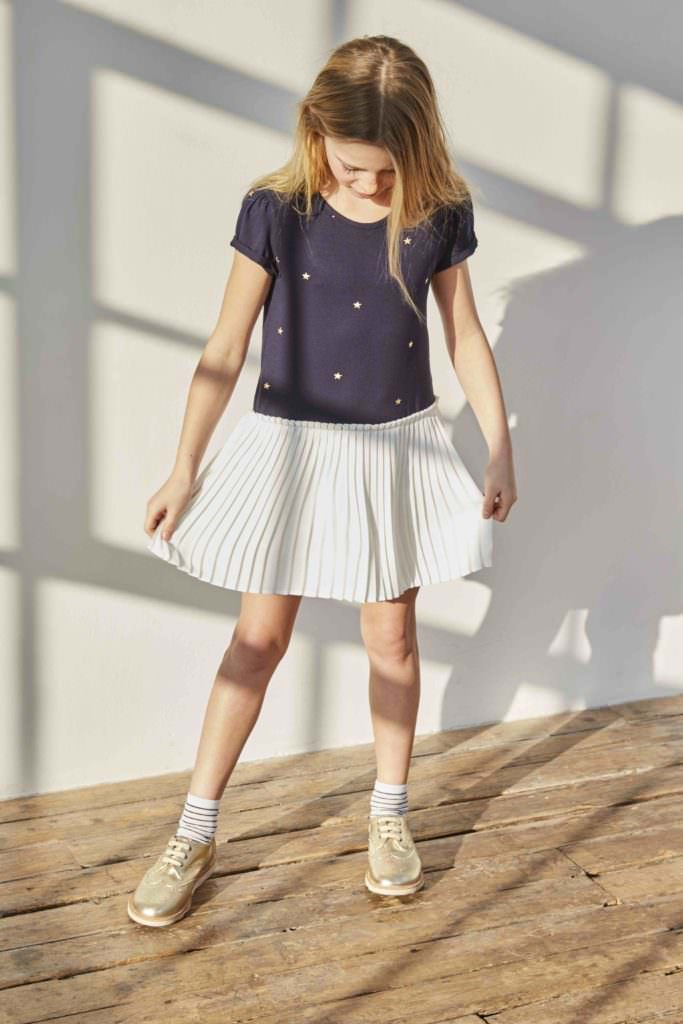 For ages 4-11 the girlswear from Kingdom of Origin is inspired by 60's rock'n'roll heroines
