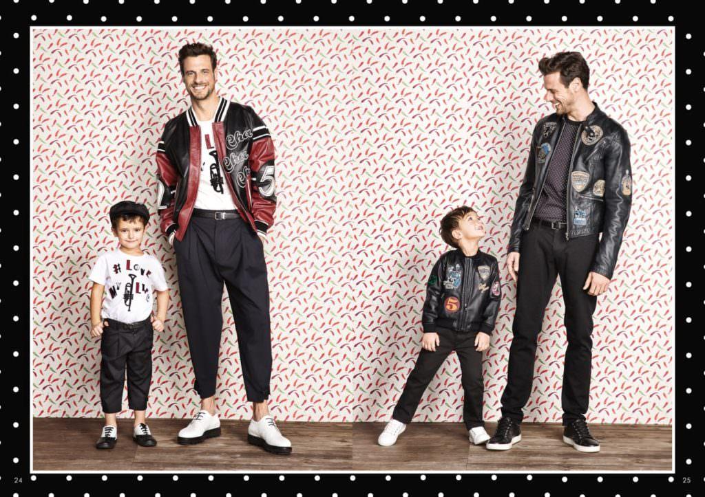 Daddy cool and boyswear at Dolce & Gabbana for summer 2017