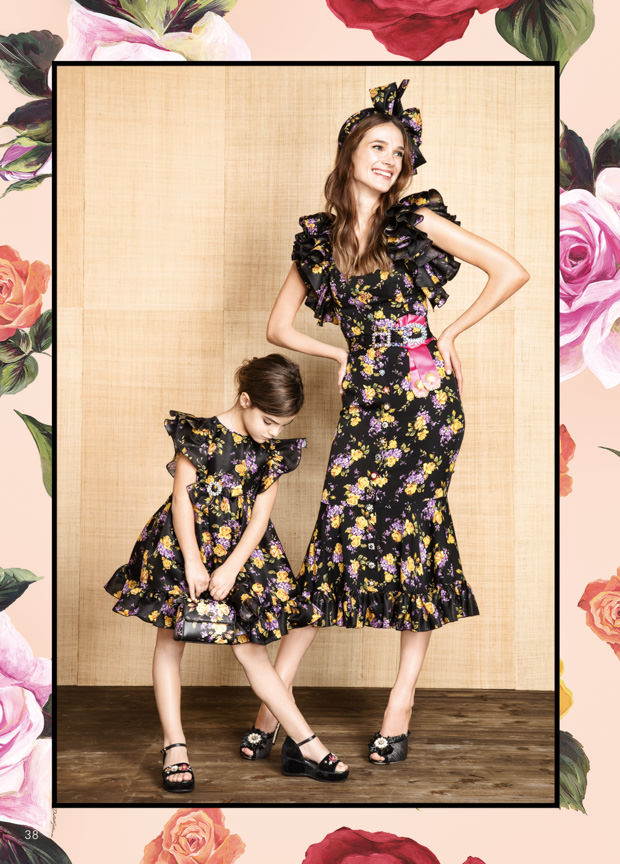 Dolce & Gabbana Mini Me kidswear for spring 2017