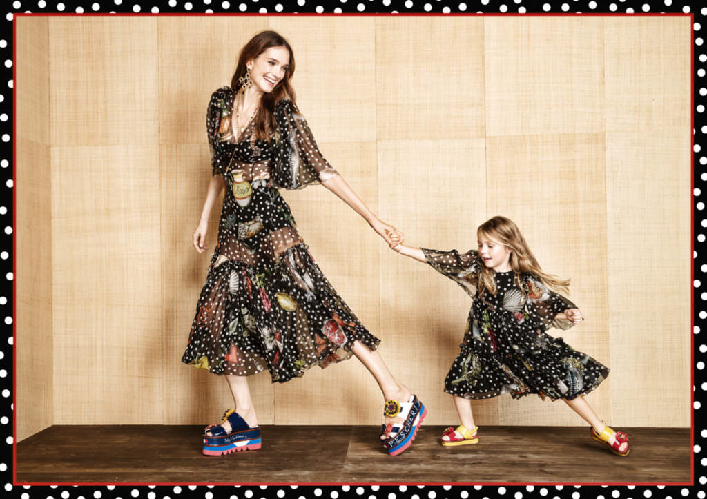 Seaside restaurant inspiration at Dolce & Gabbana for spring 2017