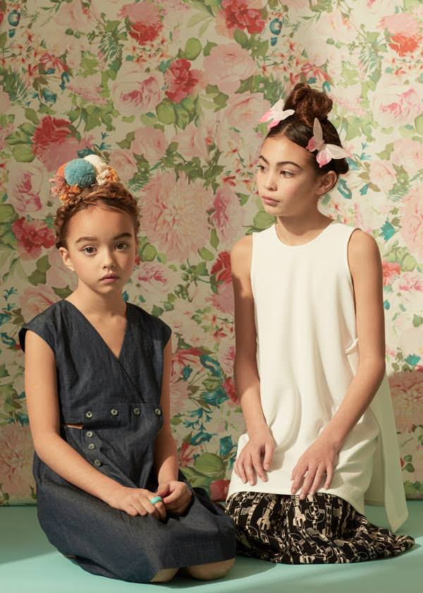 Beautiful portraits by Molly Magnuson for Ladida spring kids fashion