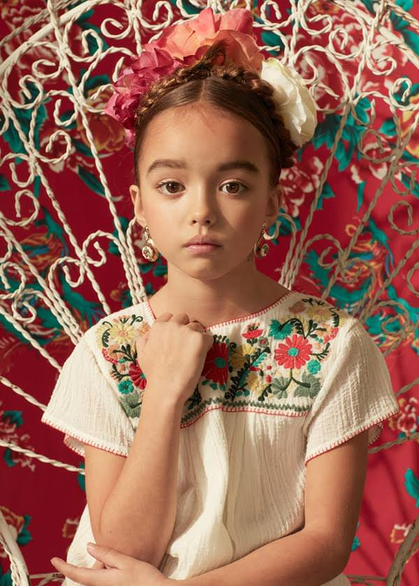 Beautiful kids fashion shoot for Ladida store new spring kids designer wear 2017