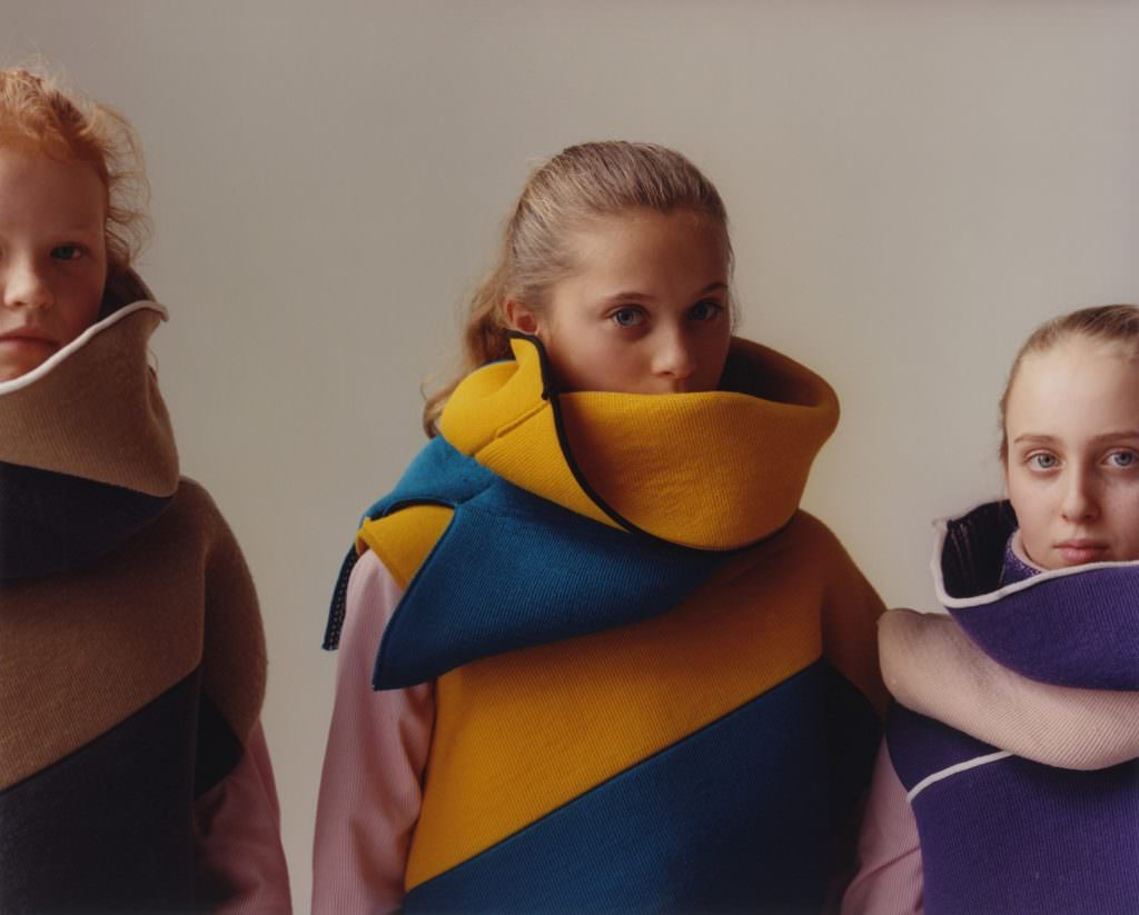High fashion worn by Yorkshire school kids photographed by Jamie Hawkesworth