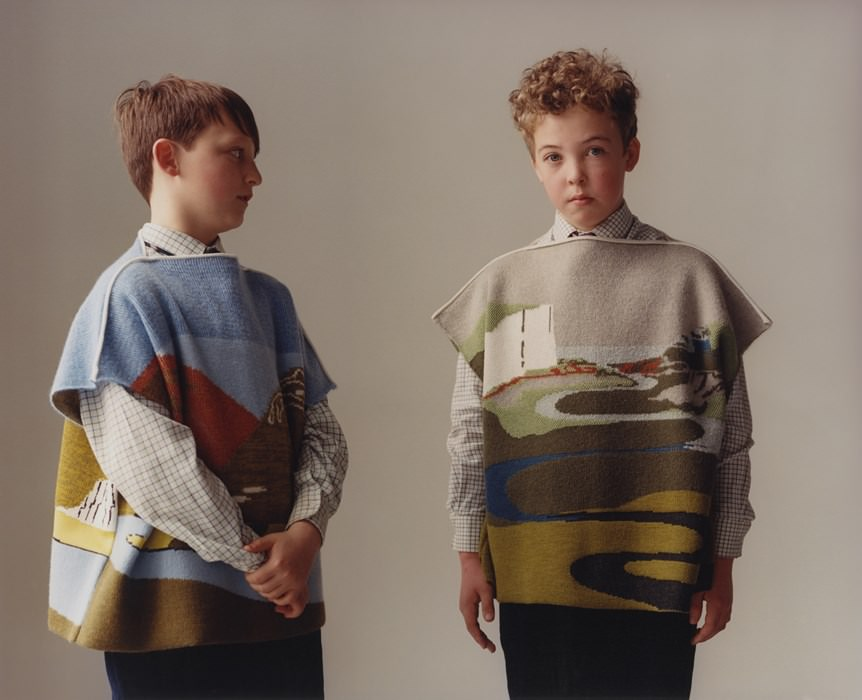 Yorkshire school kids model J.W.Anderson for Disobedient Bodies book