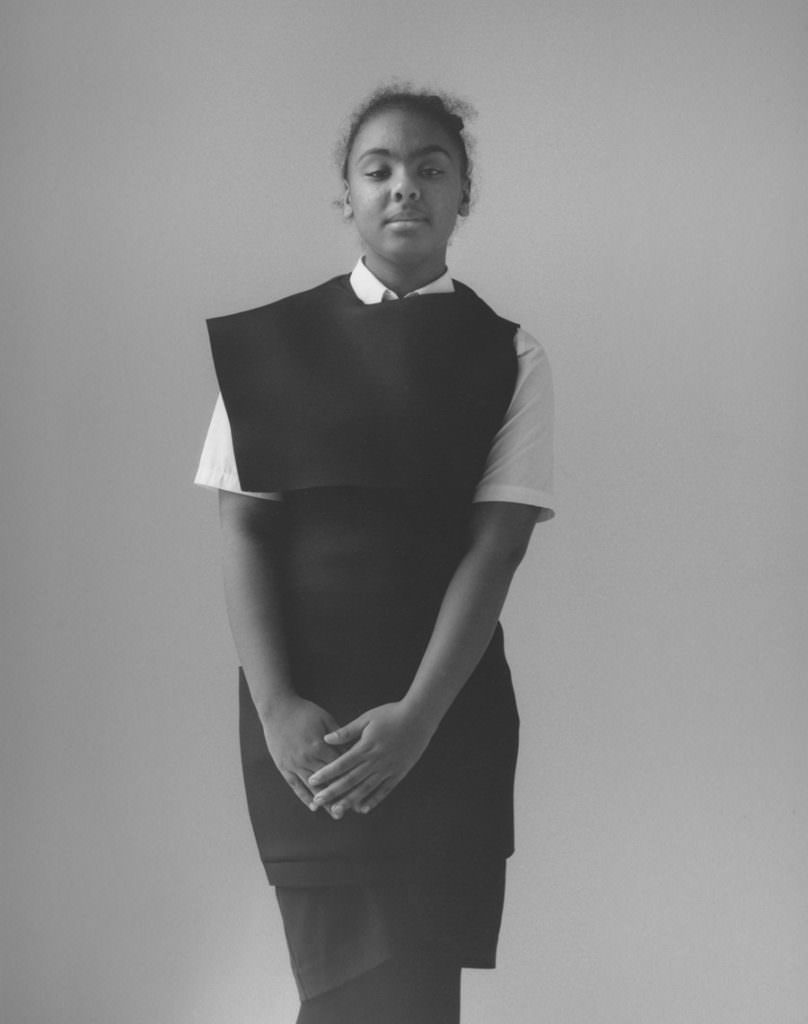 Yorkshire school kids model adult fashion for the Disobedient Bodies exhibition