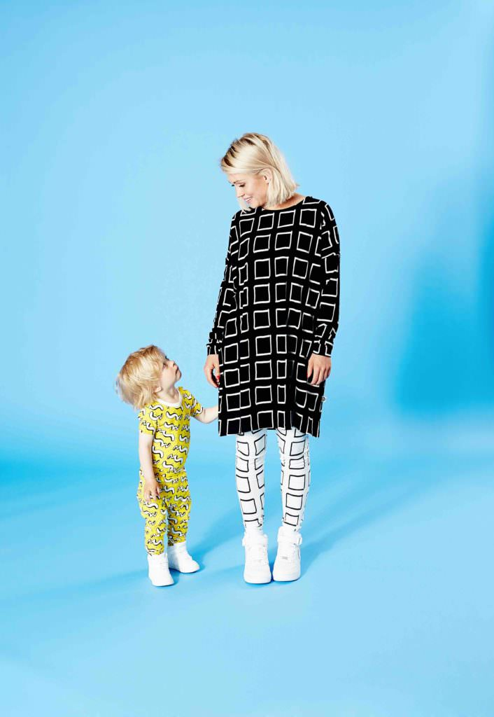 Mainio family style with a capsule adult collection for spring 2017 and minime kids