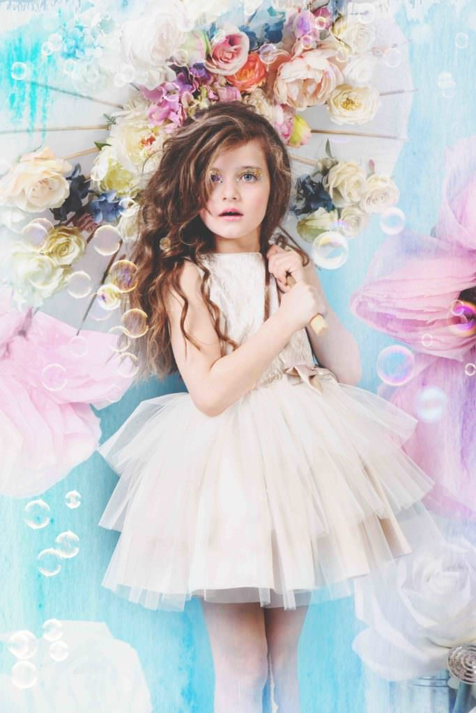Perfect party dresses by Little Wardrobe London for summer 2017 kids fashion