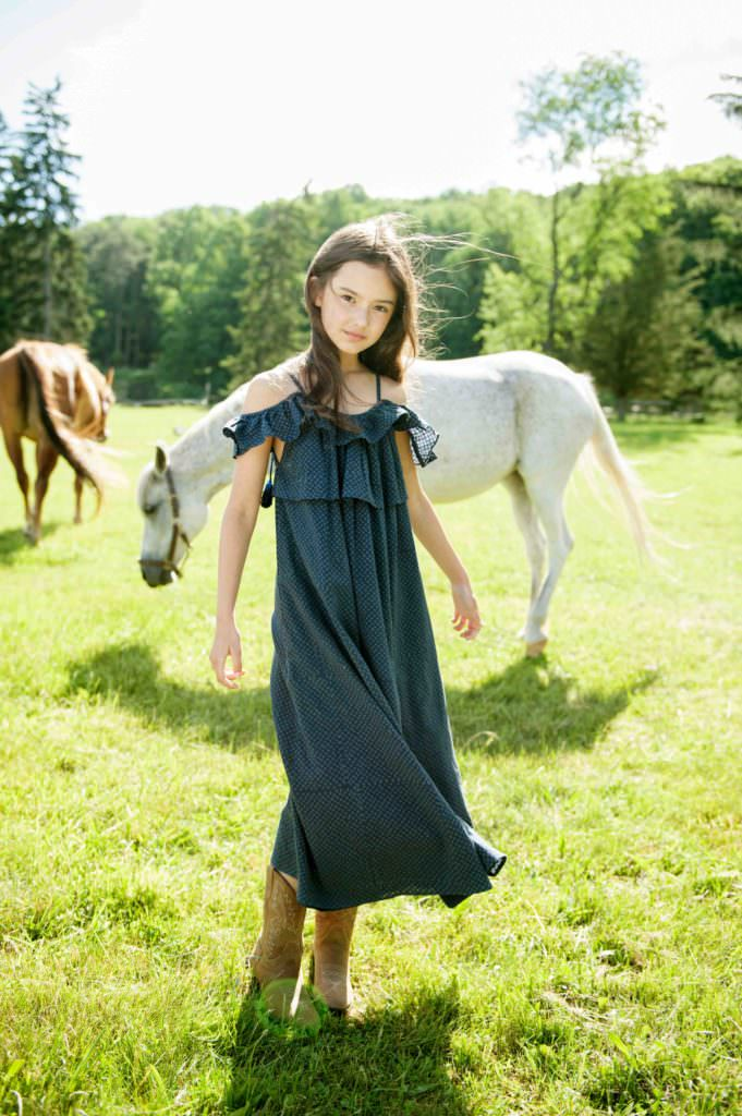 Prairie maxi dress by Velveteen for both girlswear and womenswear summer 2017
