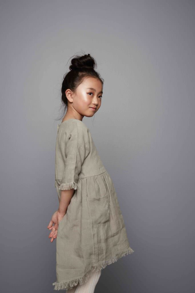 Natural plant dyed kids fashion by Featherdrum for 2017