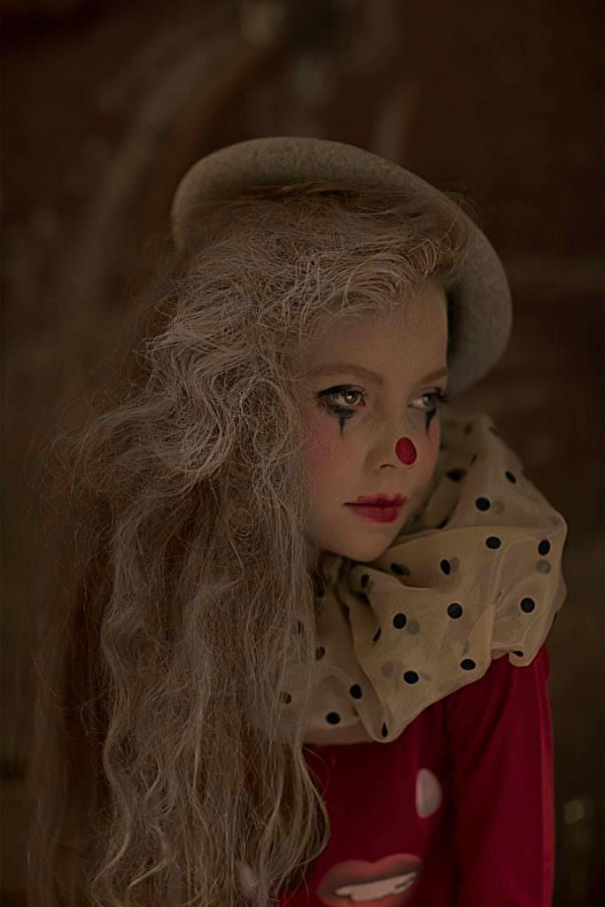 Fantasy kids fashion shoot by Gerard Harten for Hooligans magazine