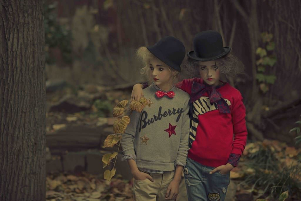 Kids fashion shoot by Gerard Harten for the new March issue of Hooligans magazine
