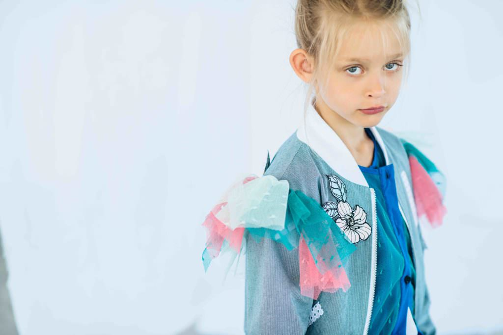 Brilliant bomber jacket from Paade Mode for girlswear summer 2017
