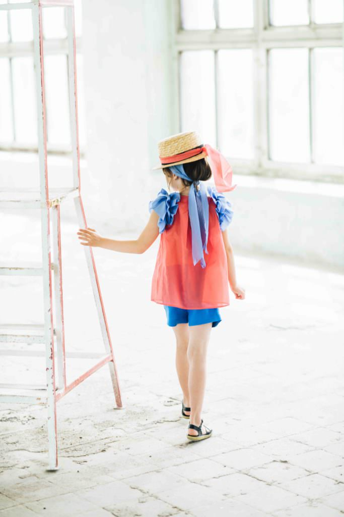 Sweet summer ruffles at Paade Mode for spring 2017 kidswear