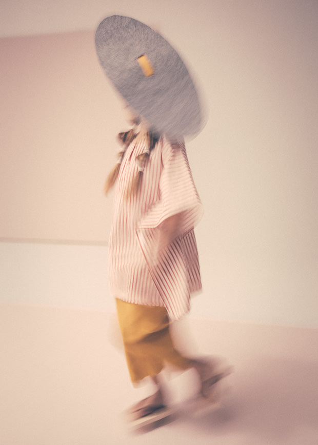 Soft focus and brilliant hats styled by Maddelena Montaguti for Collezioni Bambini