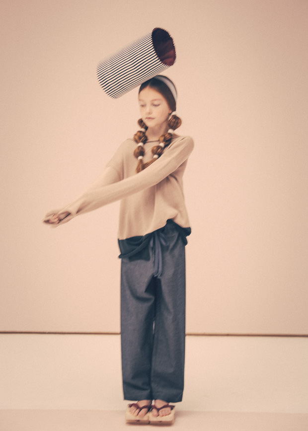 Fab kids editorial for Collezioni Bambini by Federico Leone titled Nippon Vibes