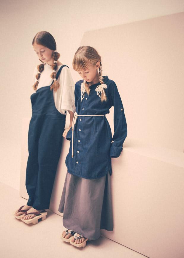 Denim softness for kidswear spring 2017