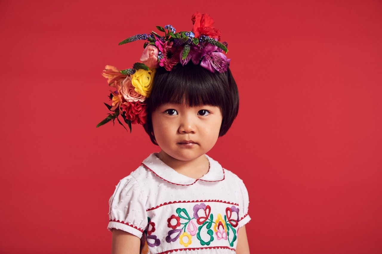 La Coqueta x Muzungu Sisters kids collaboration for spring 2017