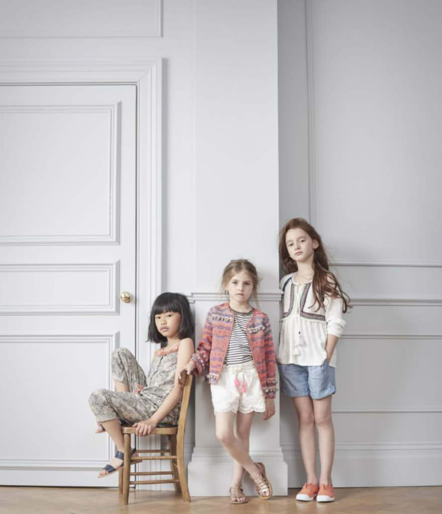 Ethnic touches in the new Outside The Lines kids fashion collection for spring 2017