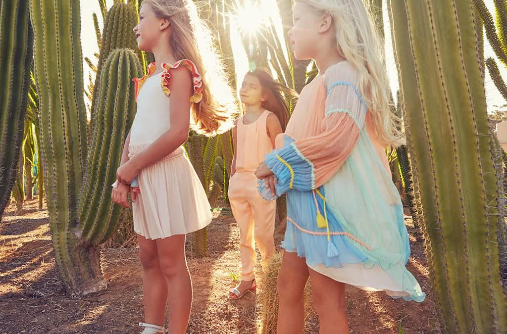 Gorgeous summer 2017 dresses by Chloe kidswear at Childrensalon