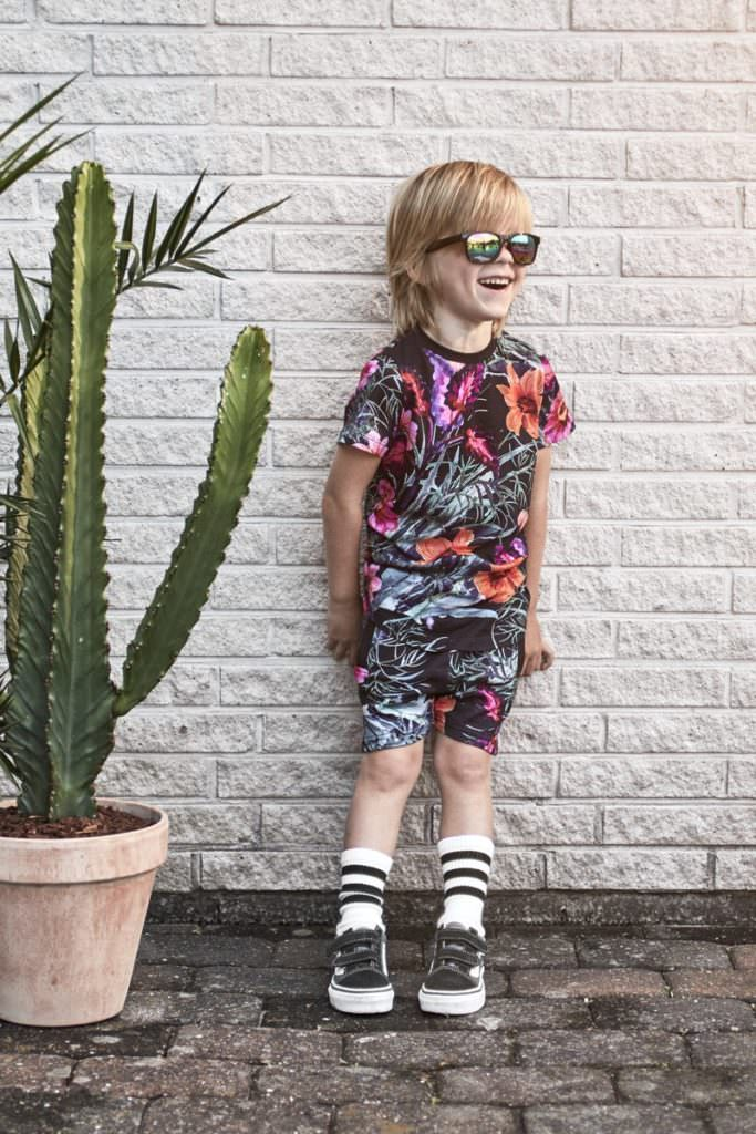 Someday Soon are one of the few boyswear labels producing cool flower prints that boys will love