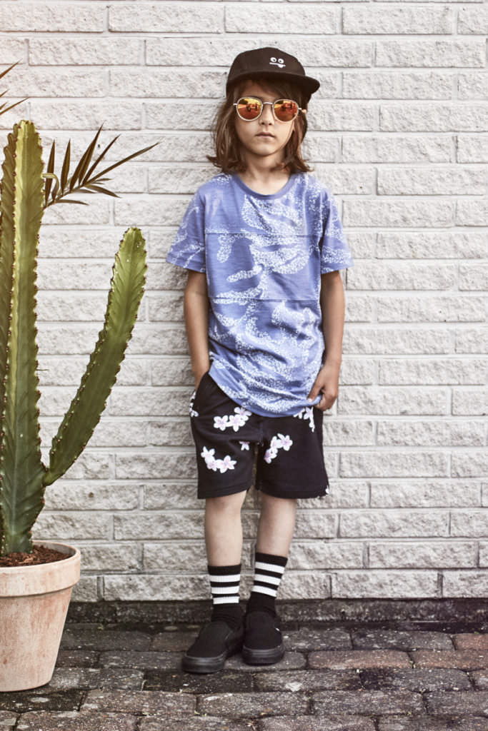 Producing their own individual prints and logo's give a special feel to the Someday Soon kids collection