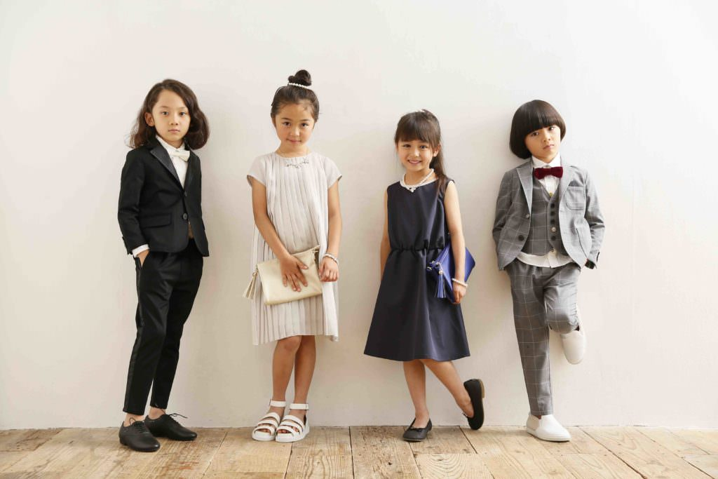 Arch & Line kids Japanese fashion line for summer 2017 in formal vein