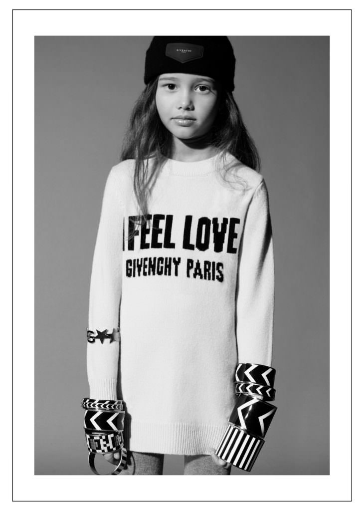 First look at the new Givenchy kids campaign for fall 2017