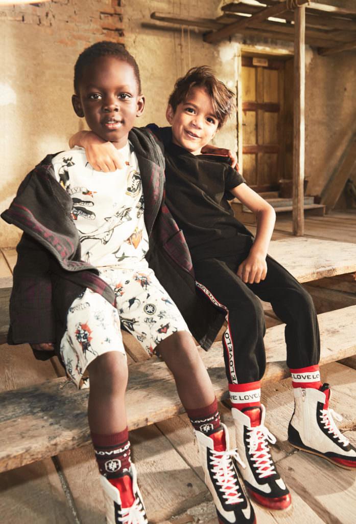 Boxer boyswear at H&M Studio for summer 2017 kids fashion