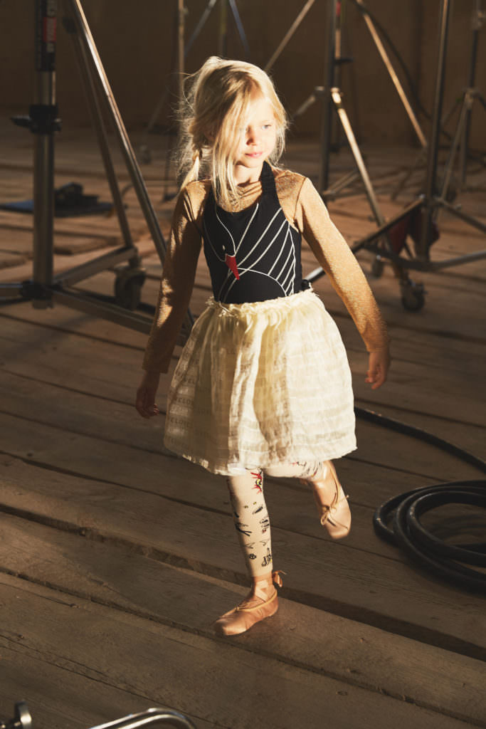 Ballerina looks for girlswear from H&M Studio for SS17 kidswear