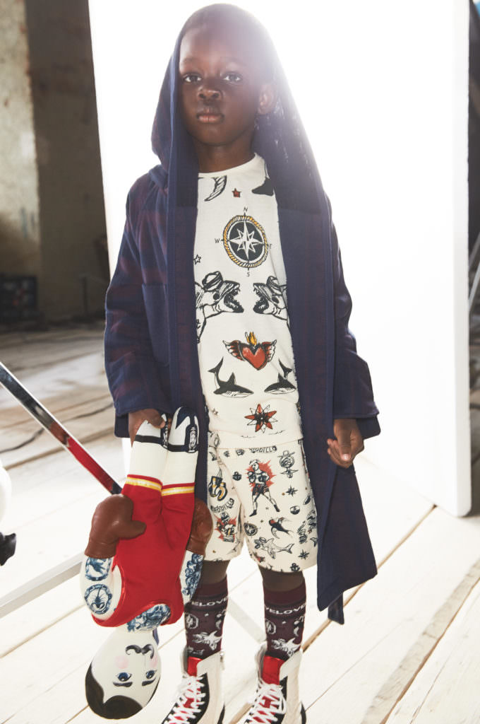 Victorian inspired prints for kids summer fashion at H&M Studio line