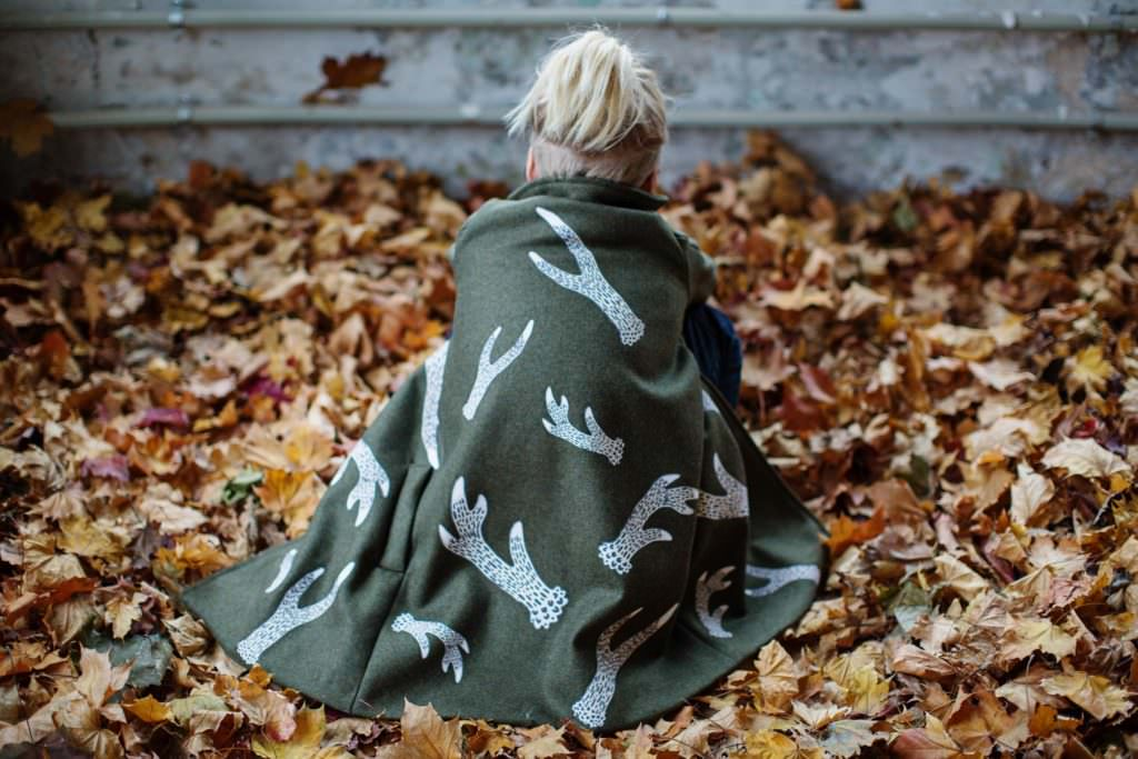 ISEkids woodland inspired print by Eili Lepik for kids fashion fall 2017