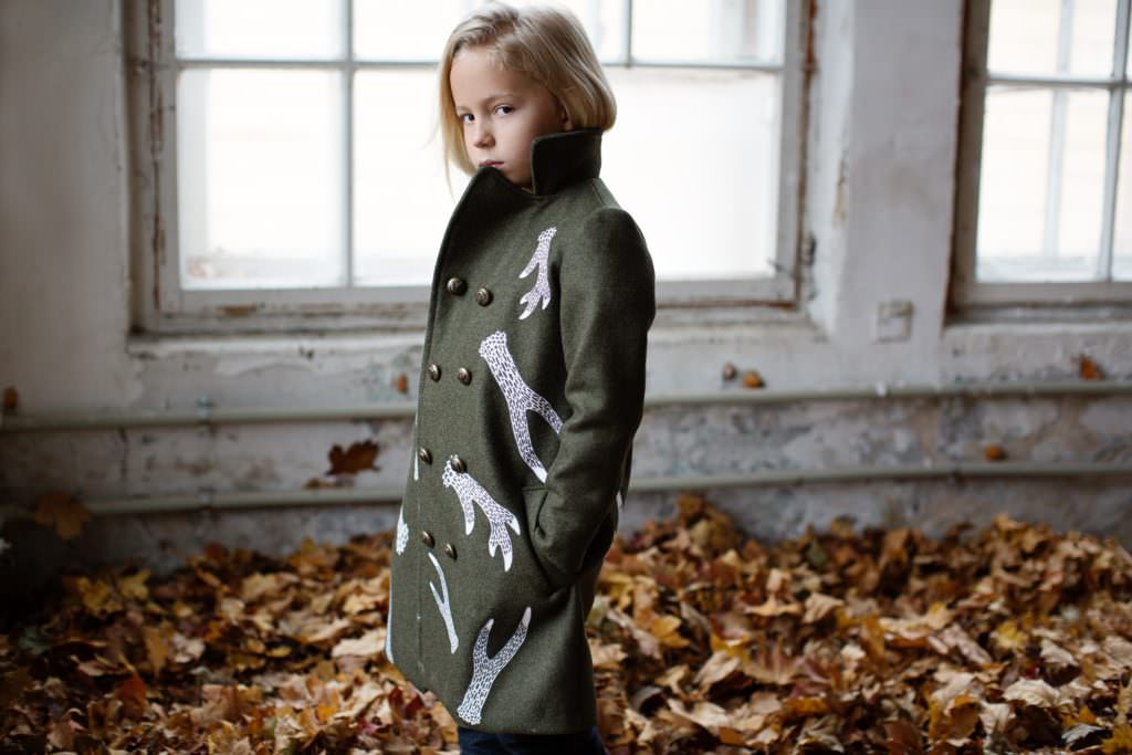 Stylish coat shapes at ISEkids for kidswear winter 2017