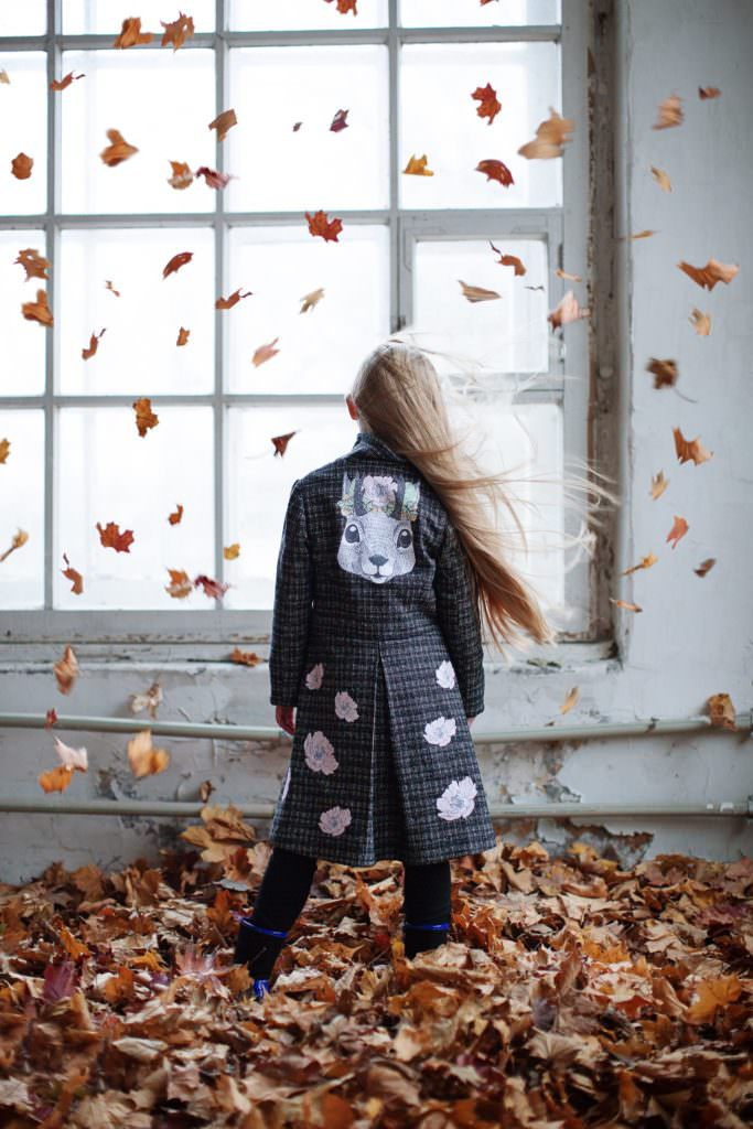 ISEkids return to kids fashion with a fabulous printed coat collection for fall 2017