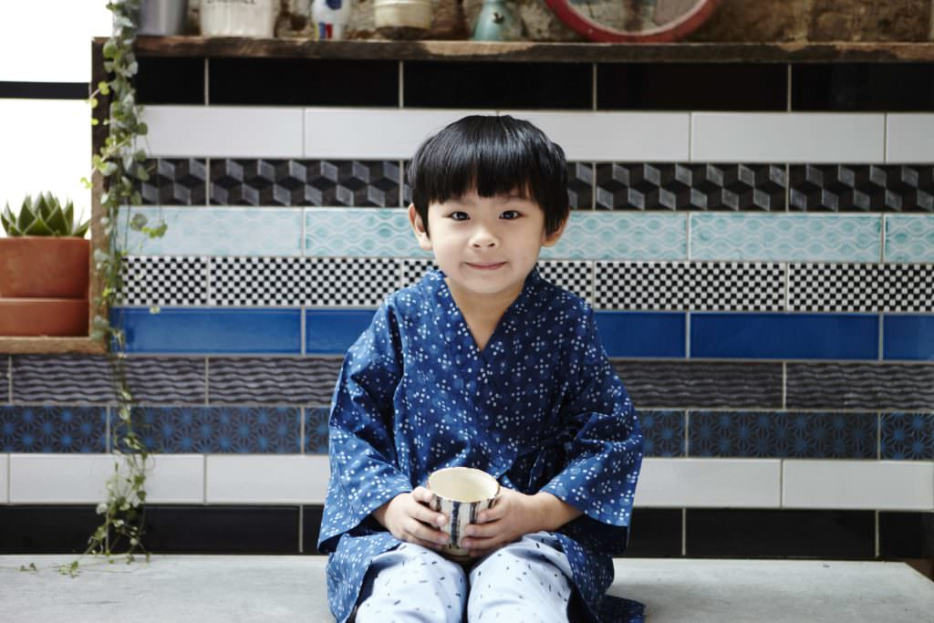 Sweet kimono kids love in a trad style from Olive Loves Alfie for summer 2017