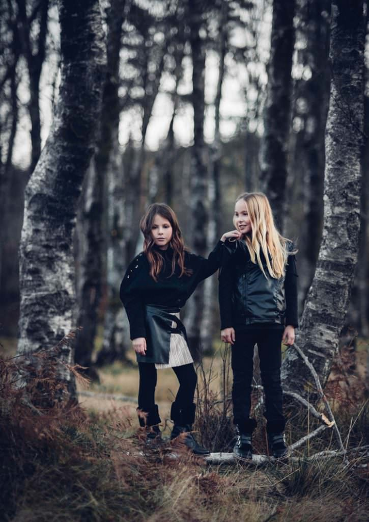 Wrap up warm, inspiration for kidswear for fall 2017 from Andorine