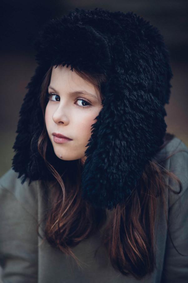 Trapper hats at Andorine fall/winter 2017 kidswear