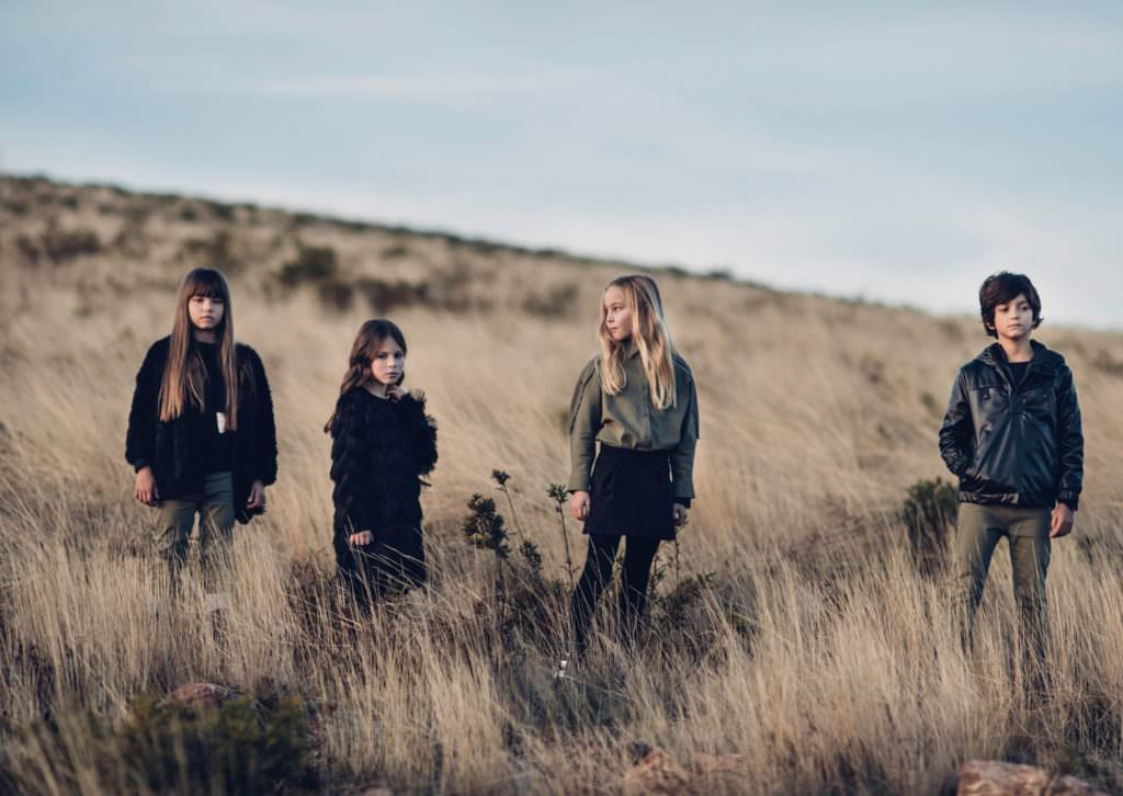 There is a capsule boyswear collection as well as the strong girls fashion at Andorine for fall 2017