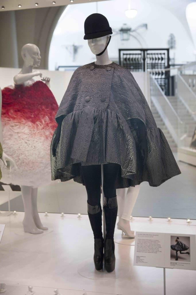The modern version designed in 2006 by Nicolas Ghesquiere lent by the Balenciaga Archives, fashion inspiration from the master