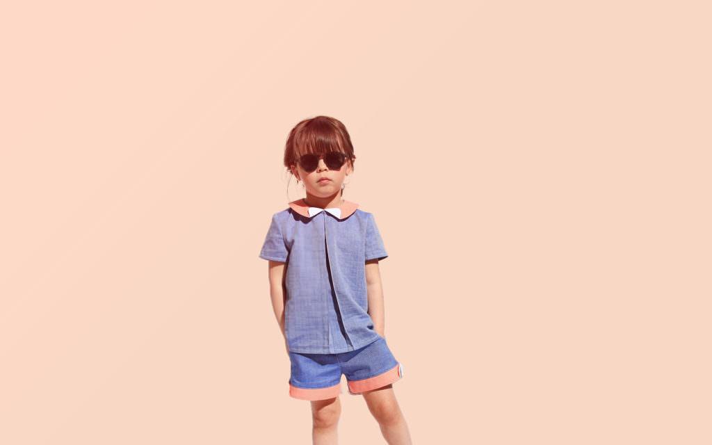 Mino Paris girls shorts for summer 2017