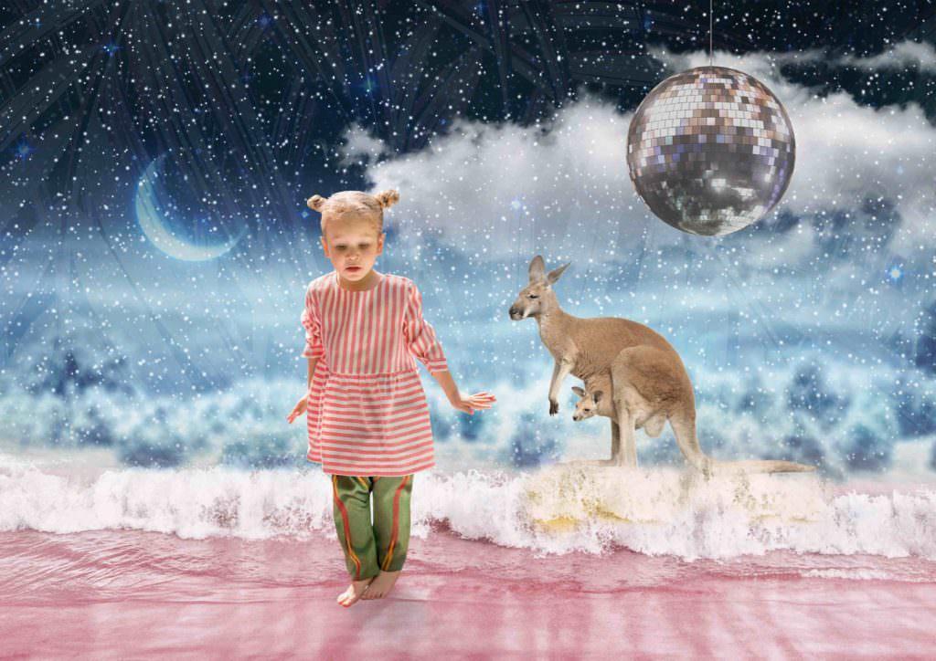 Mr Uky for spring/summer 2017 fashion kidswear in a fantasy landscape