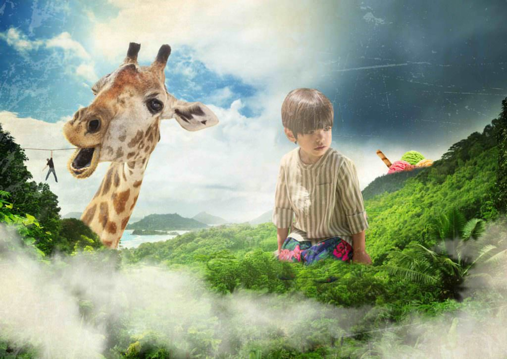 A fantasy land for the new Mr Uky kidswear campaign