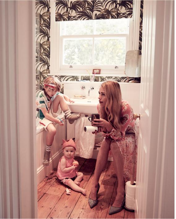 Photo by Ulla Nyeman for Papier Mache, stylist Julie Vianey