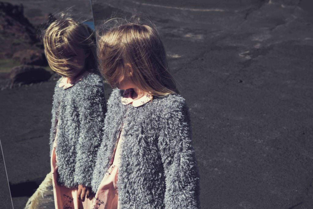 Textured cover up for spring chills from Iglo+Indi sneak preview spring 2018
